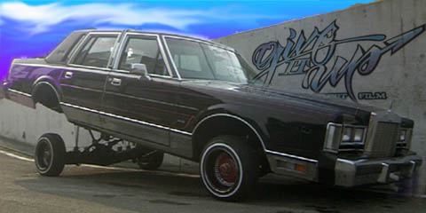 lowrider giveitup towncar