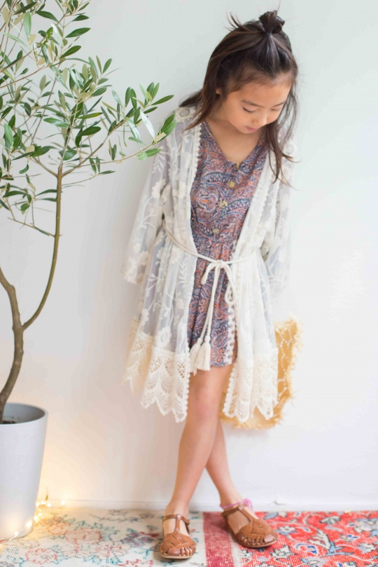 TruLuv lace cardigan