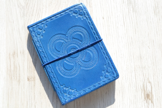 TWO'S leather note book