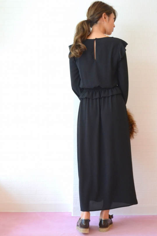 Please chiffon long dress