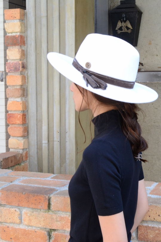 CATARZI wool white Hat
