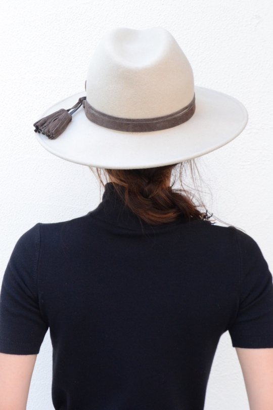 CATARZI wool brown Hat