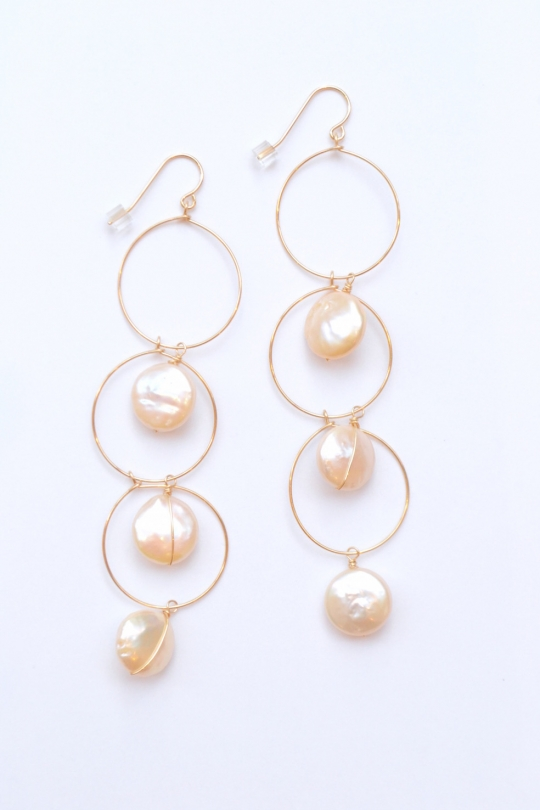RueBelle  Freshwater Pearl earrings