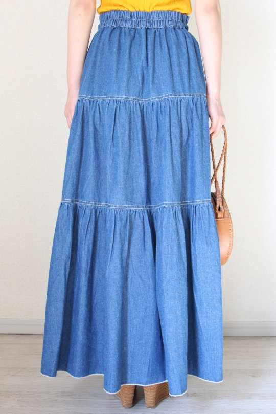 LEON&HARPER dungaree skirt
