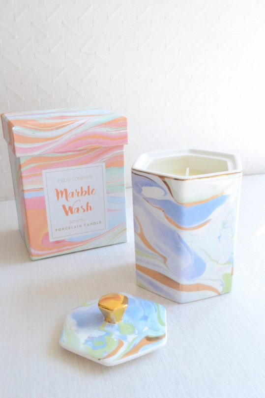 TWO'S Marble Wash Candle