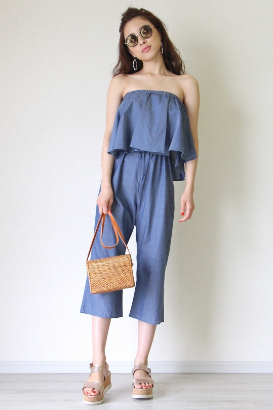 THML frill rompers