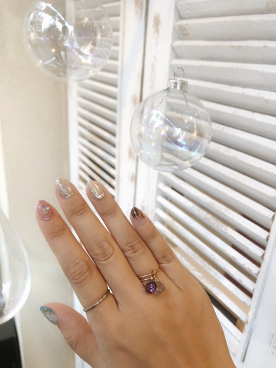 RueBelle asymmetry ring