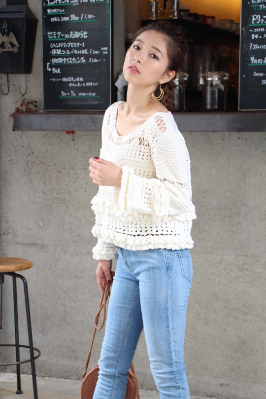 cleobella crochest white tops
