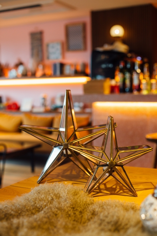 HOMART star candle stand