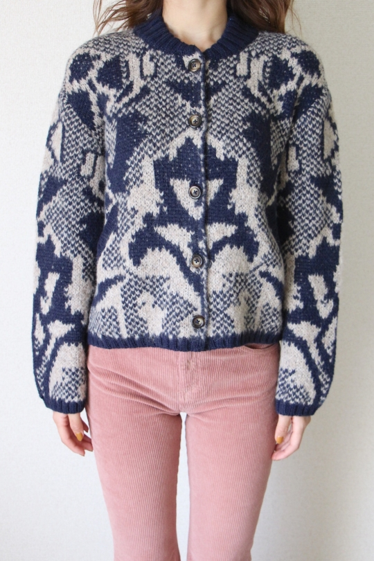 LEON&HARPER design knit jacket