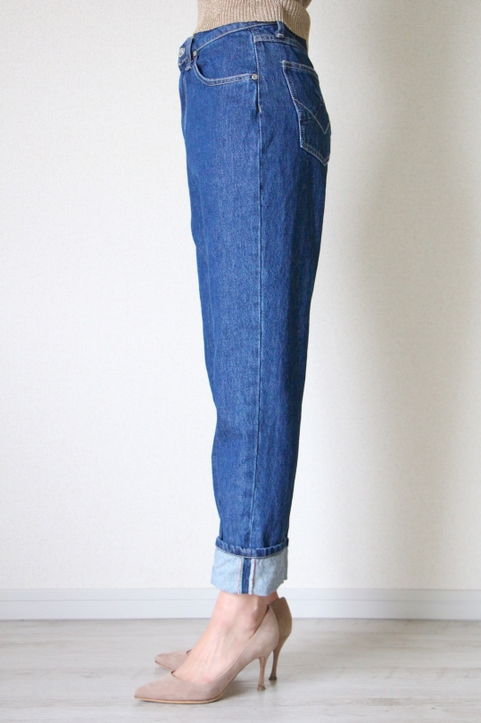 Please indigo denim pts