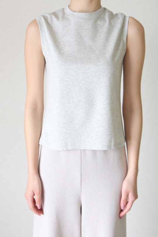 LaLaLei original grey high-neck tops
