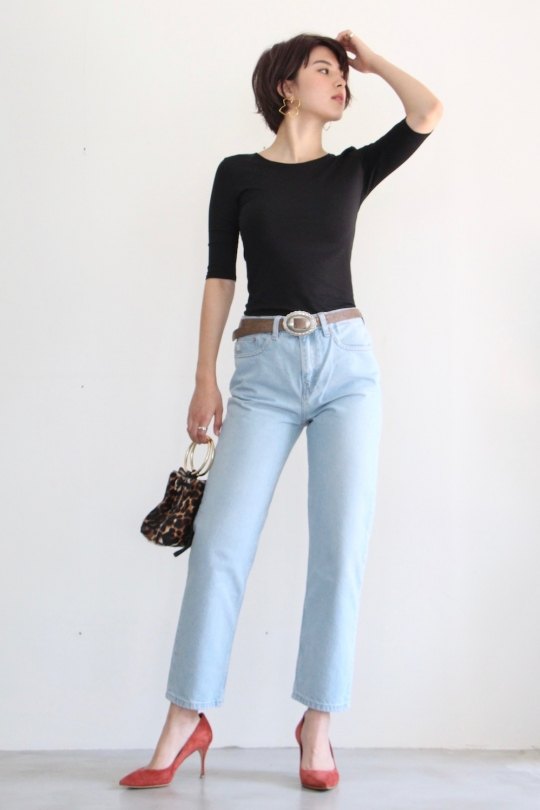MUD JEANS crop jeans PTS