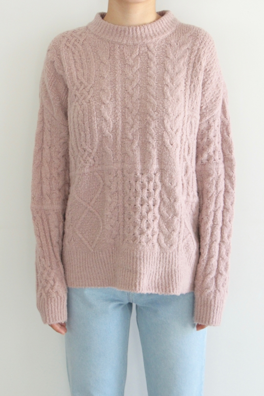 roberto collina cable knit tops