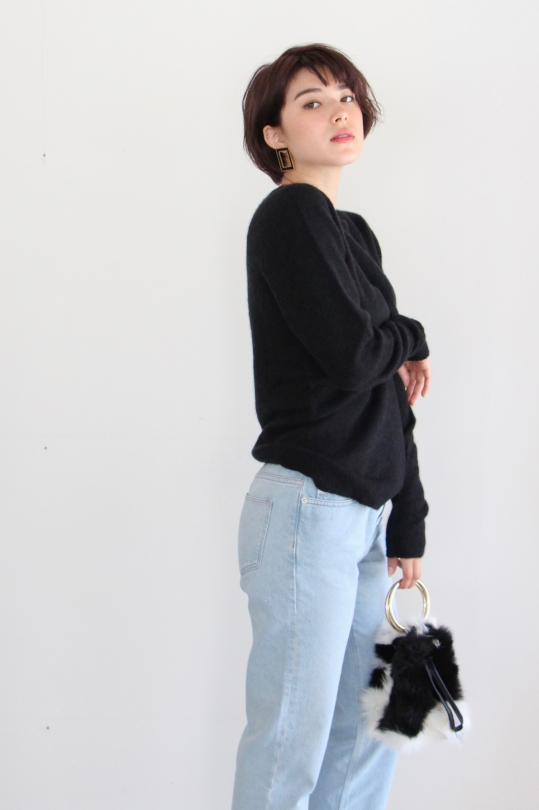 roberto collina black knit TOPS