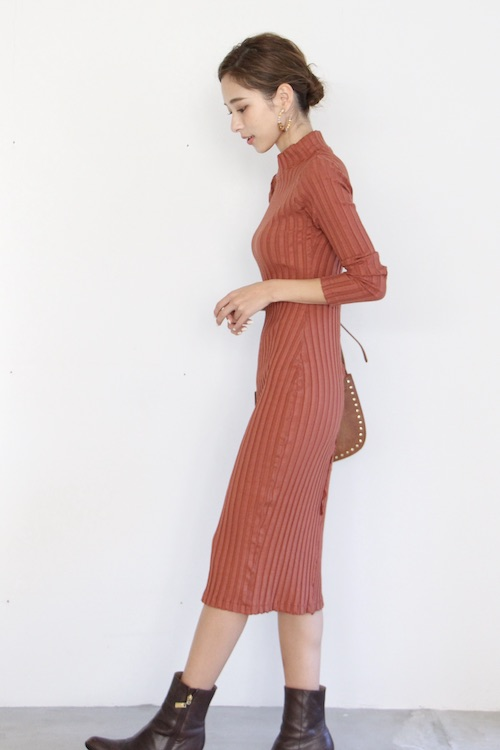AMVi collection knit orange OP
