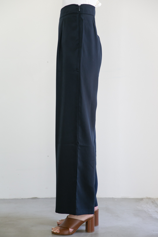 RITA ROW tencel navy wide pts