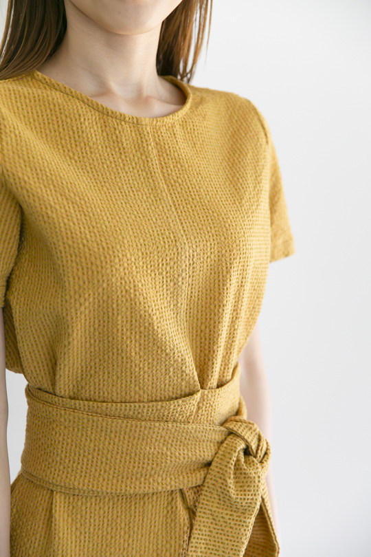 RITA ROW summer cotton yellow OP