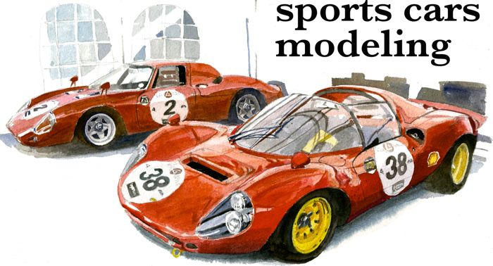 SPORTS CARS MODELING スポーツカーズモデリング