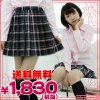 <img class='new_mark_img1' src='//img.shop-pro.jp/img/new/icons15.gif' style='border:none;display:inline;margin:0px;padding:0px;width:auto;' />1234A■MB●送料無料●<即納!特価!在庫限り!> チェック柄プリーツスカート単品 色:黒×グレー×ピンク サイズ:M/BIG ■Teens Ever■