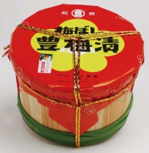 豊梅漬 1.5kg 木ダル