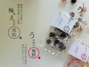 梅肉えきす黒飴 90g(約20粒)