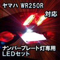 LEDナンバープレートランプ ヤマハ WR250R 対応 LEDバルブ