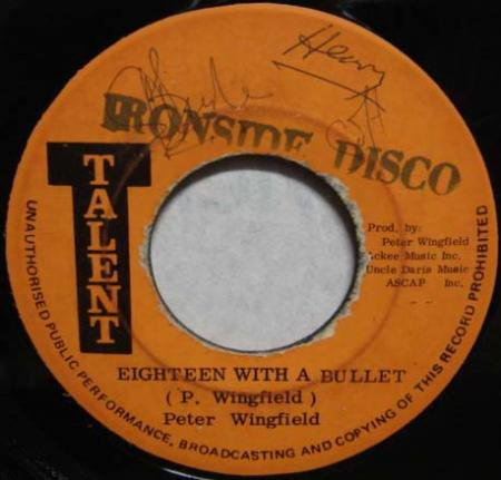 peter wingfield eighteen with a bullet