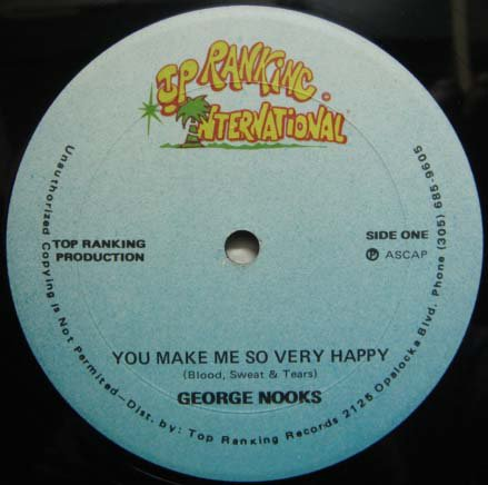 you make me so very happy george nooks gamushara disc