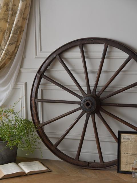 アンティーク車輪