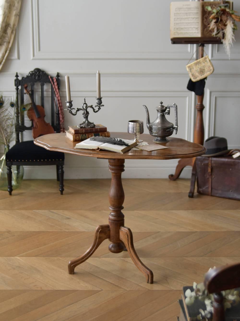 サイドテーブル.オーバル