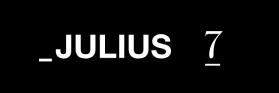 JULIUS/MA_JULIUS