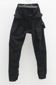 <img class='new_mark_img1' src='//img.shop-pro.jp/img/new/icons2.gif' style='border:none;display:inline;margin:0px;padding:0px;width:auto;' />JULIUS(ユリウス)  POLYESTER OX   TACTICAL  PANTS   (BLACK)