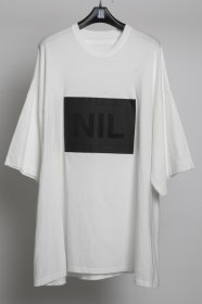 <img class='new_mark_img1' src='//img.shop-pro.jp/img/new/icons2.gif' style='border:none;display:inline;margin:0px;padding:0px;width:auto;' />NILøS(ニルズ)COTTON  JERSEY  NIL Patch T-shirt  (OFF)