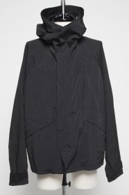 予約商品 JULIUS(ユリウス)  NY/RY TAFFETA ECWCS HOODED JACKET (BLACK)