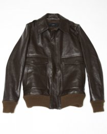 <img class='new_mark_img1' src='//img.shop-pro.jp/img/new/icons29.gif' style='border:none;display:inline;margin:0px;padding:0px;width:auto;' />AKM  horse leather A-2 jacket  (BROWN)