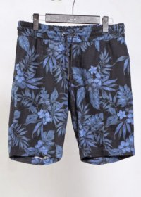 <img class='new_mark_img1' src='//img.shop-pro.jp/img/new/icons2.gif' style='border:none;display:inline;margin:0px;padding:0px;width:auto;' />AKM tropical print cotton linen �������󥰡��������������硼��  (NAVY/RED)