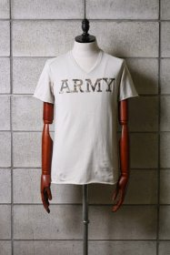wjk(ダブルジェイケイ) CAMO LETHER  ARMY  カットソー Tシャツ  (BEIGE)
