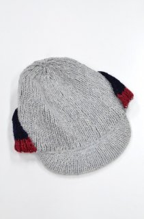 ohta grey knit cap