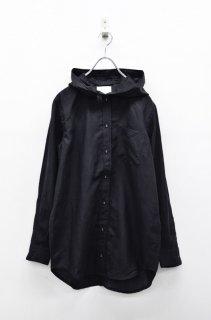 STOF パーカーシャツ - BLACK