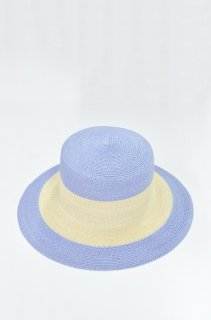 KAMILAVKA line border hat - SAX