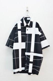 My Beautiful Landlet プリントビッグシャツ - BLACK