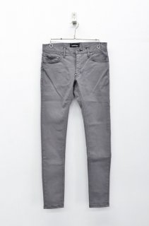 DIET BUTCHER SLIM SKIN Super stretch slim skin pants - GREY