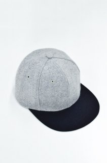 prasthana 6panel flat visor - GREY