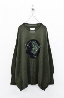 bedsidedrama × STAR WARS ポケットワイドセーター - KHAKI