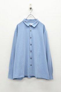 prasthana stretch gabardine shirt - SAX
