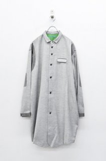 ohta grey wool shirts
