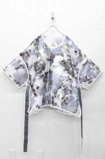 BALMUNG グラスファブリックビッグパフTシャツ