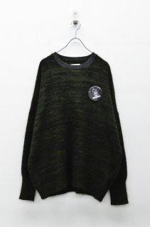 STOF 山人の優しいセーター - BLACK