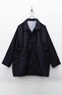 STOF バックパックコート - BLACK